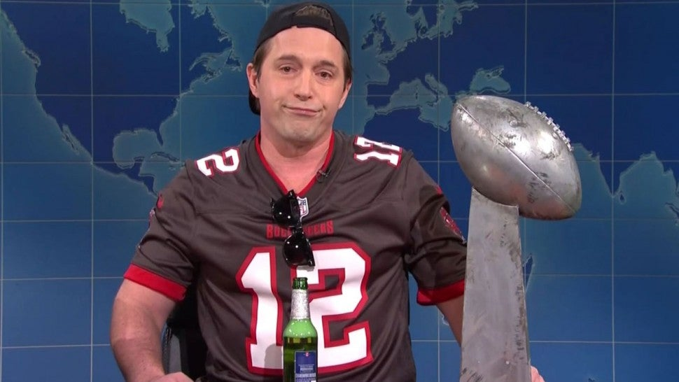 Beck Bennett as Tom Brady on 'Saturday Night Live'