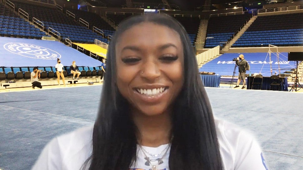 Gymnast Nia Dennis on Getting Emotional After Receiving Praise From Missy Elliott & Gabby Douglas (Exclusive).jpg