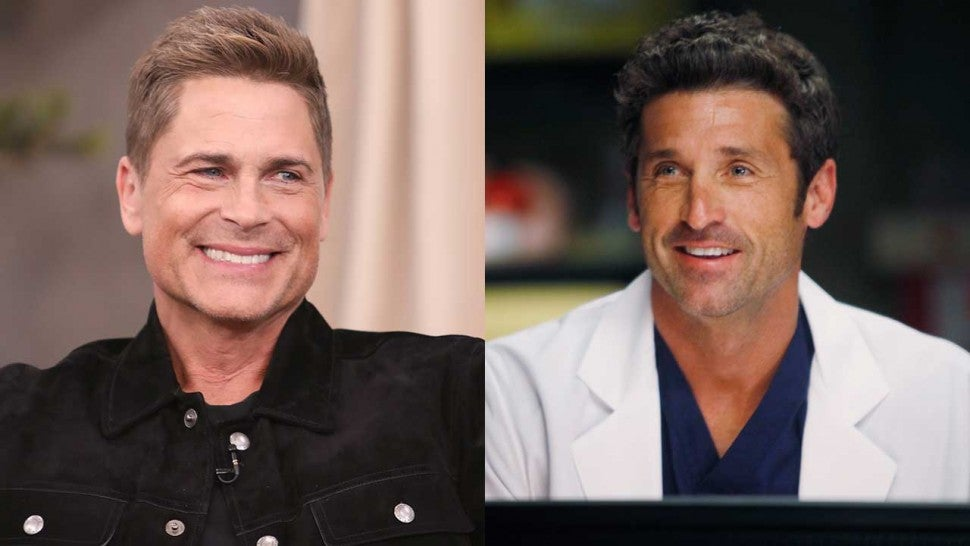 Rob Lowe and Patrick Dempsey