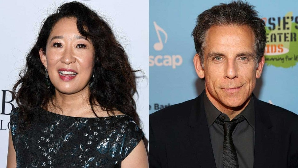 Sandra Oh and Ben Stiller