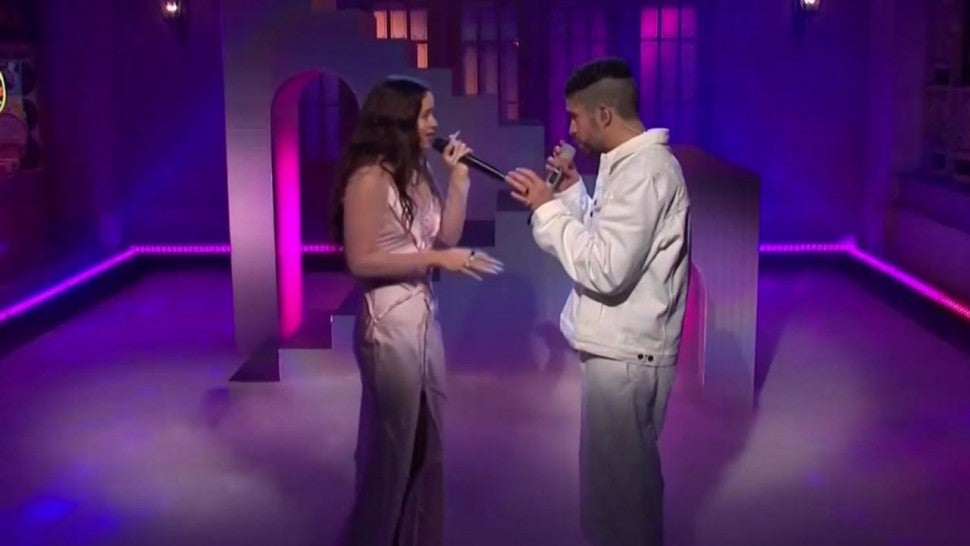 Rosalia and Bad Bunny on 'Saturday Night Live'