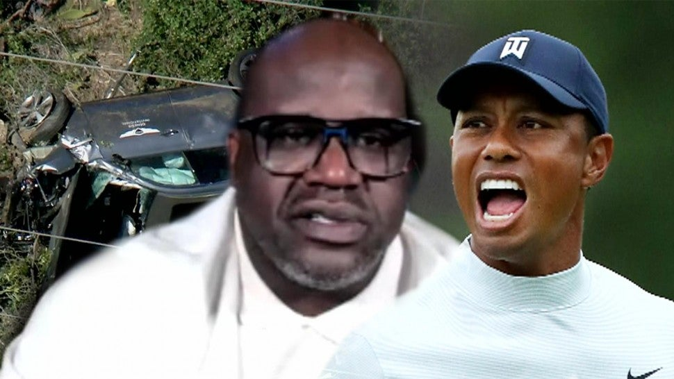 Shaquille O'Neal Says He Was Emotional Hearing About Tiger Woods' Accident (Exclusive).jpg