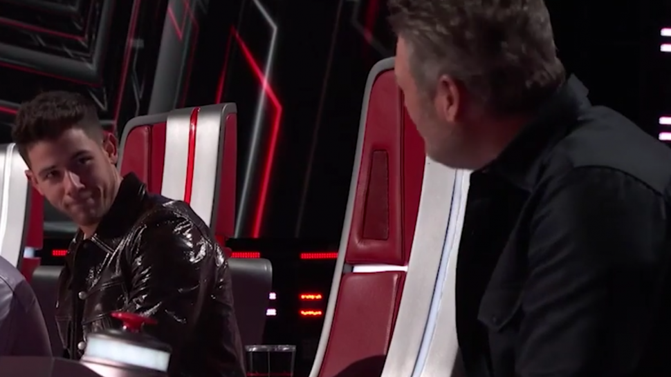 'The Voice': Nick Jonas Gets Blocked By 'Bully' Blake Shelton Over Gean Garcia's Stunning Audition.jpg