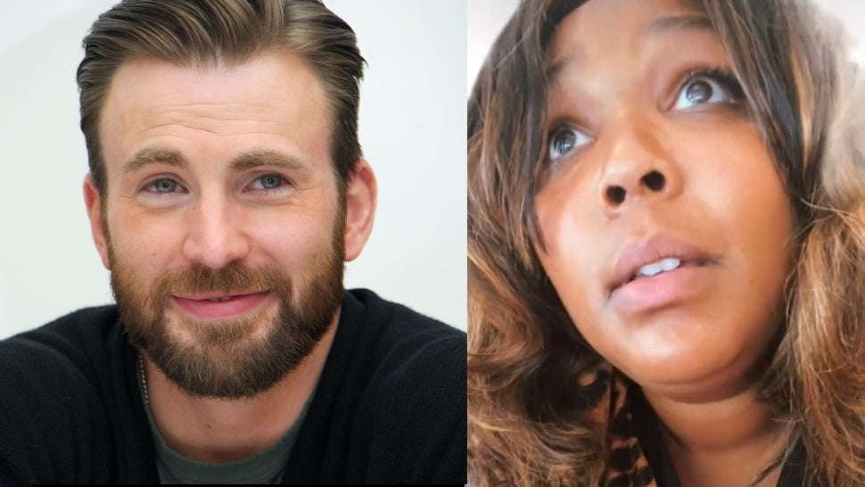 Chris Evans Has the Cutest Response to Lizzo Joking That She's Pregnant With His Baby.jpg