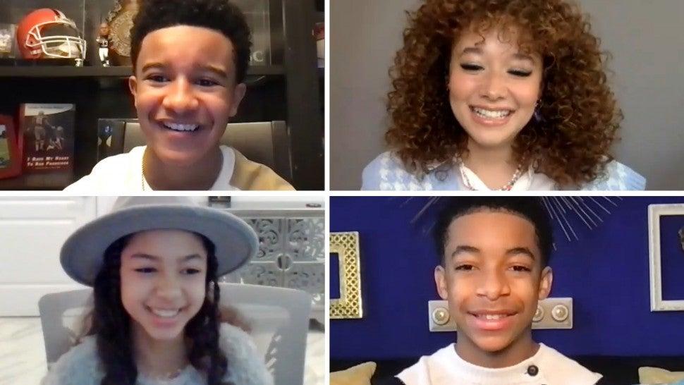 'Family Reunion' Kids Talk Part 4, Shaka's First Kiss, TikTok Dancing and More (Exclusive).jpg