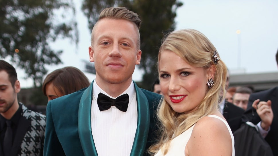 Macklemore and wife Tricia Davis