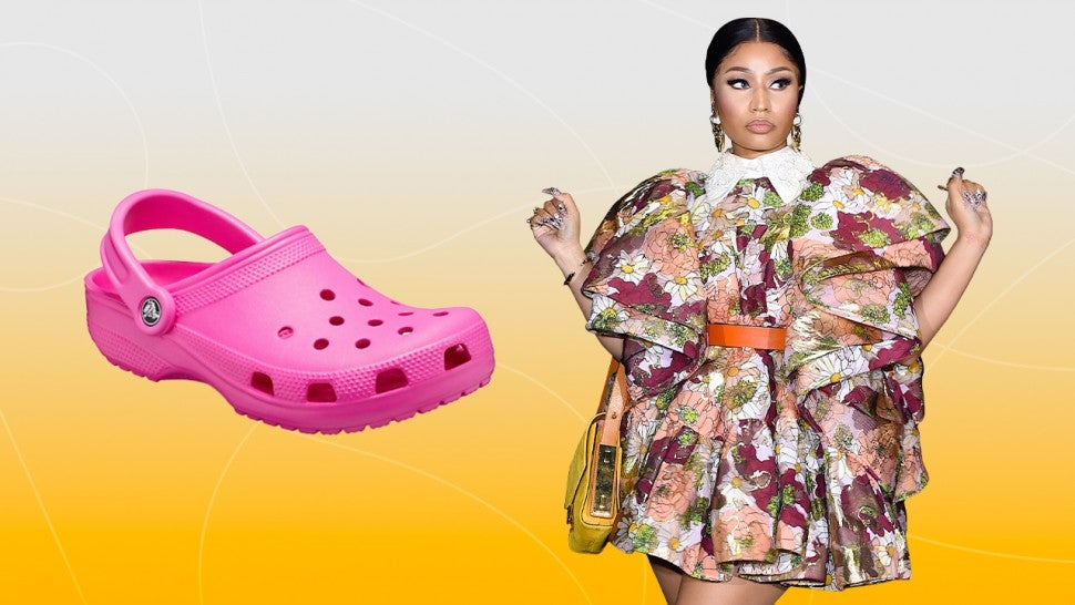 Nicki Minaj, Ariana Grande and More Celebs Jump on the Crocs Trend -- Shop Their Looks.jpg