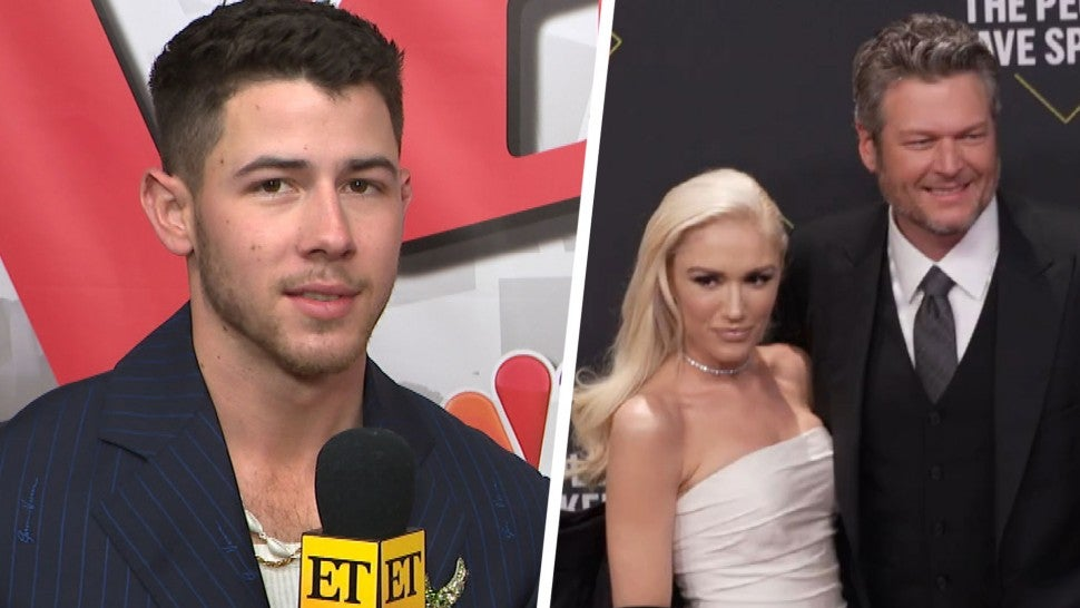 Nick Jonas Teases If He'll Perform at Blake Shelton and Gwen Stefani's Wedding (Exclusive).jpg