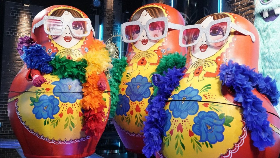 The Russian Dolls on The Masked Singer