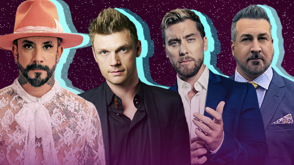 Nick Carter, Lance Bass, AJ McLean &  Joey Fatone Team Up For Pride Game Night and Performance (Exclusive).jpg