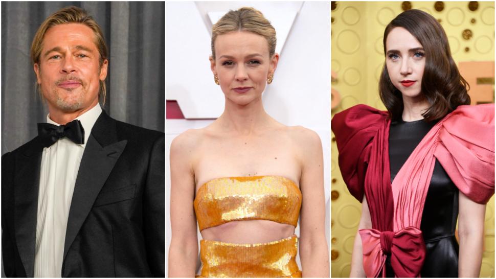 Brad Pitt Producing Film About Harvey Weinstein Exposé With Carey Mulligan, Zoe Kazan Set to Star.jpg