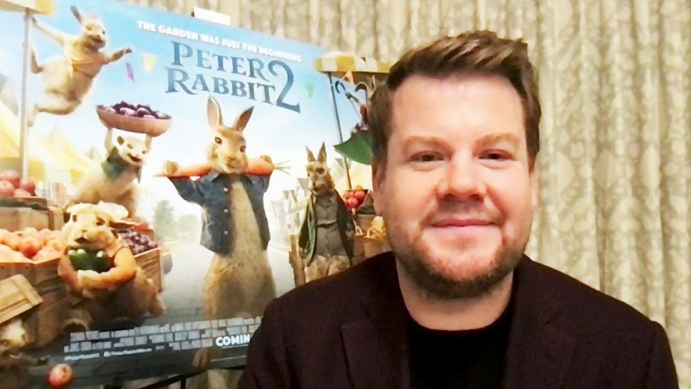 'Peter Rabbit 2: The Runaway': James Corden Shares His Own Childhood Runaway Attempt.jpg