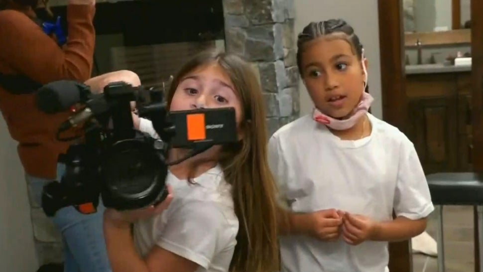 Penelope Disick and North West Have Fun With Cameras to Pretend Film 'Keeping Up With the Kids'.jpg