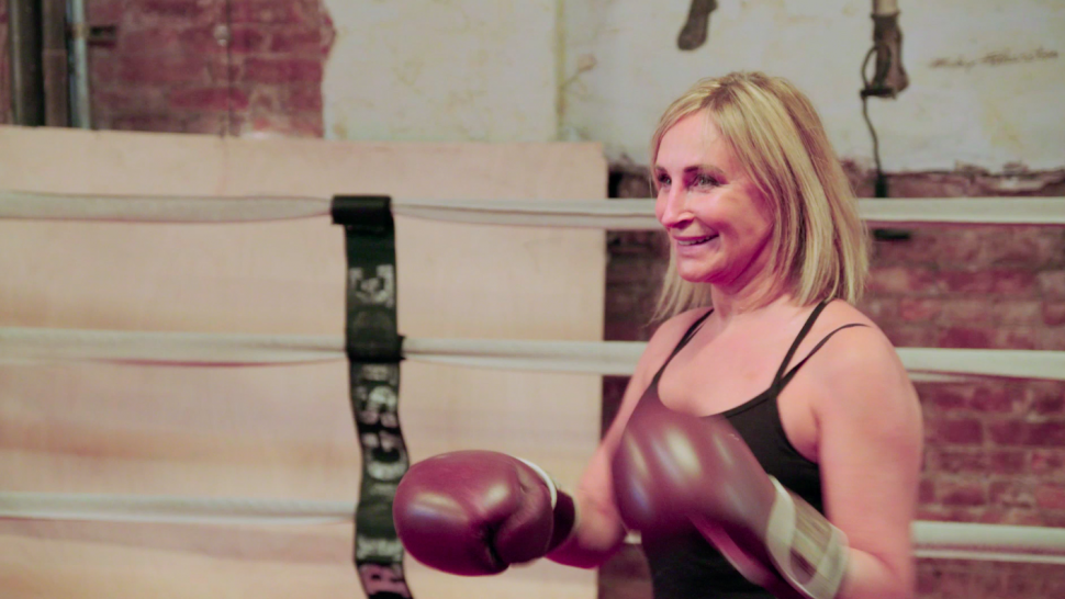 'RHONY': Watch Sonja Morgan Take Out Her Feelings About Luann de Lesseps in the Boxing Ring (Exclusive).jpg