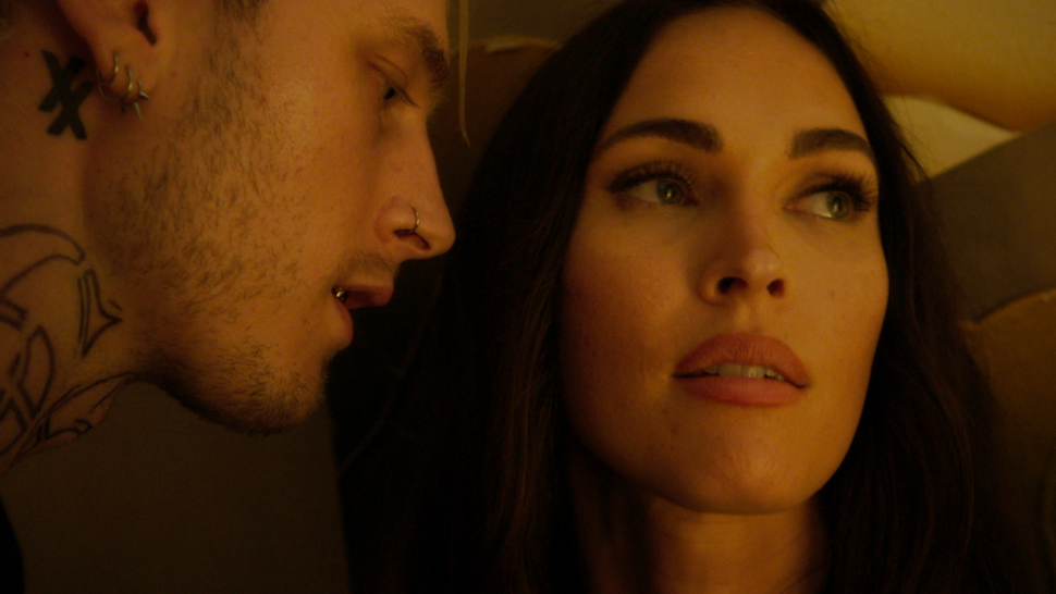 Megan Fox and Colson Baker (aka Machine Gun Kelly) Thrill in 'Midnight in the Switchgrass' Trailer (Exclusive).jpg