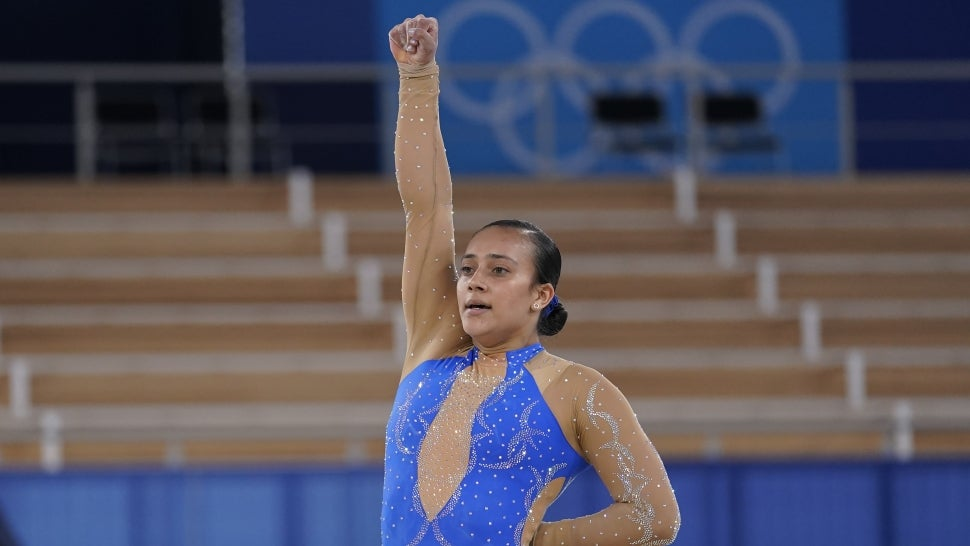 Costa Rican Gymnast Luciana Alvarado Includes BLM Tribute in Floor Routine.jpg