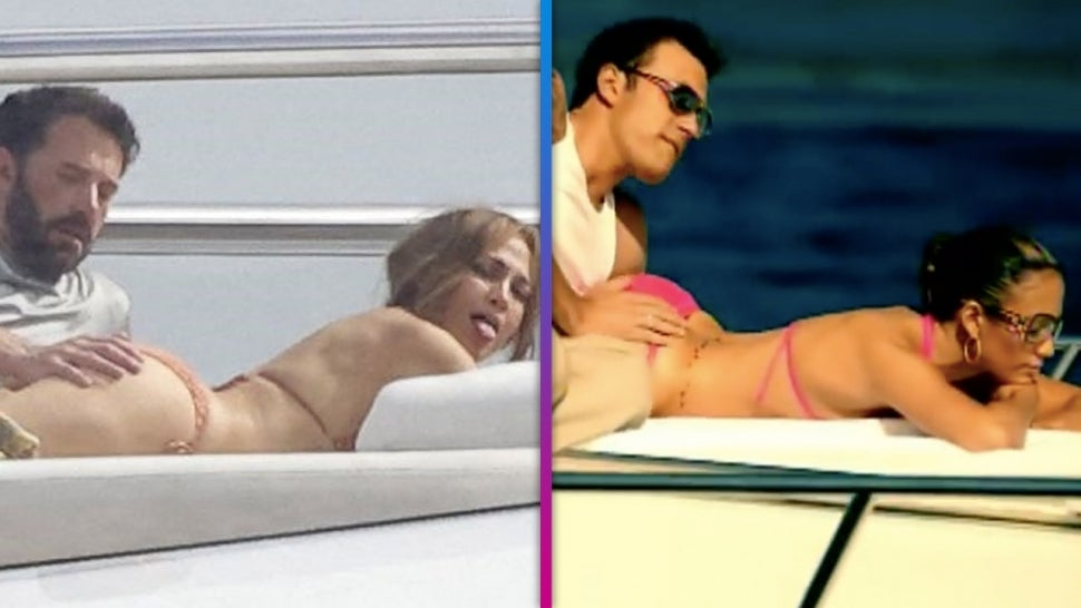 Ben Affleck Touching Jennifer Lopez's Backside Reminds Fans of 'Jenny From the Block' Music Video.jpg