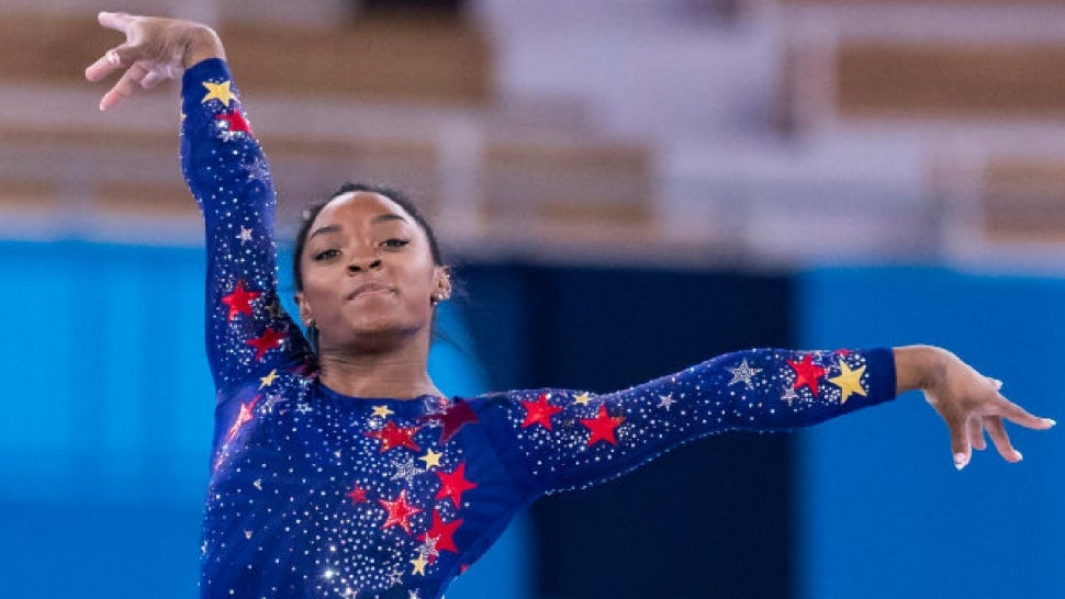 Simone Biles Says She Feels the 'Weight of the World' Ahead of Gymnastics Team Finals at Tokyo Olympics.jpg