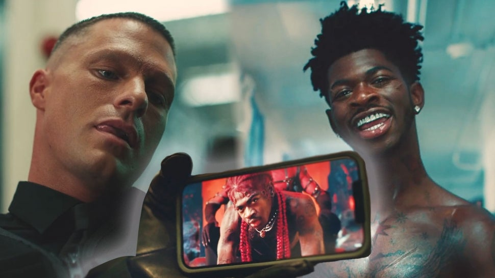 Colton Haynes Thirsts Over Lil Nas X in Epic 'Industry Baby' Video.jpg