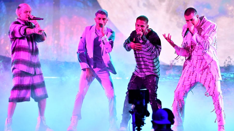CNCO Performs for the First Time Following Joel Pimentel's Departure at Premios Juventud.jpg
