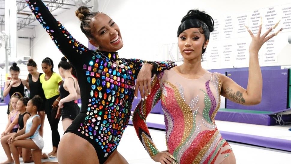 Pregnant Cardi B Tries Rhythmic Gymnastics With Amanda Seales.jpg