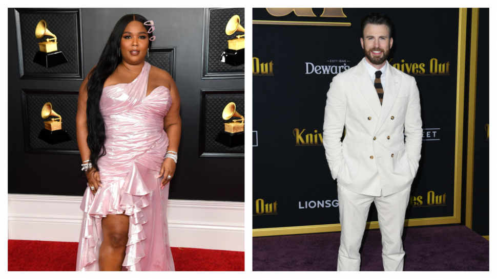 Lizzo Is Ready to Co-Star in 'The Bodyguard' Remake With Chris Evans.jpg