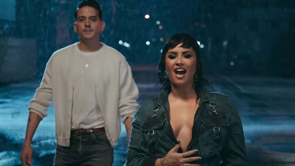 Demi Lovato and G-Eazy Address Past Problems In Powerful Music Video for New Song 'Breakdown'.jpg