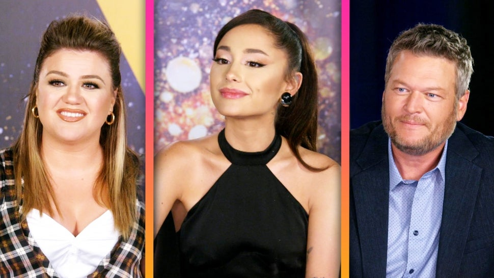 'The Voice' Coaches Admit Ariana Grande Is a 'Formidable Opponent' in Season 21 (Exclusive).jpg