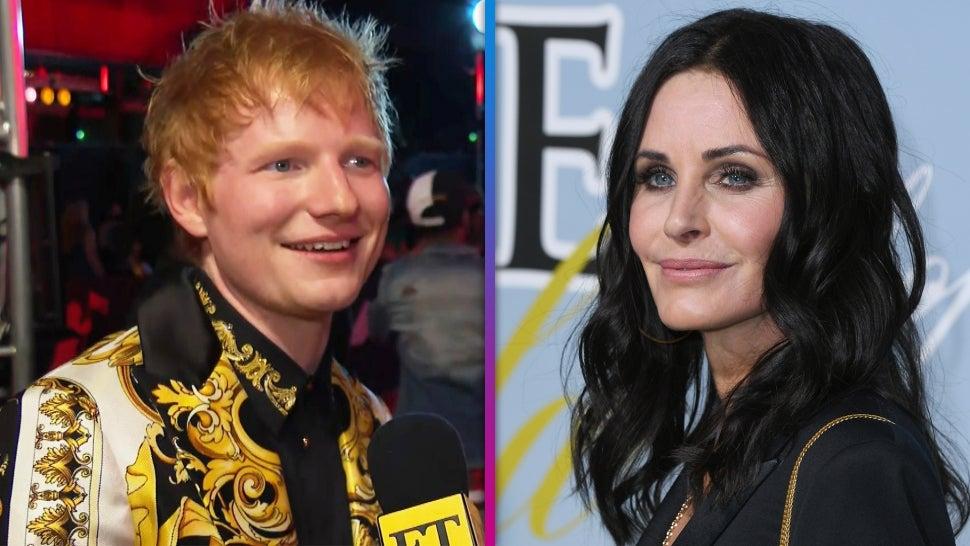 VMAs 2021: Ed Sheeran Reveals Courteney Cox Sings on His New Album! (Exclusive).jpg