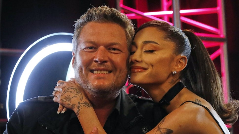 Blake Shelton Accuses Ariana Grande of 'Sucking Up' to 'The Voice' Audience.jpg