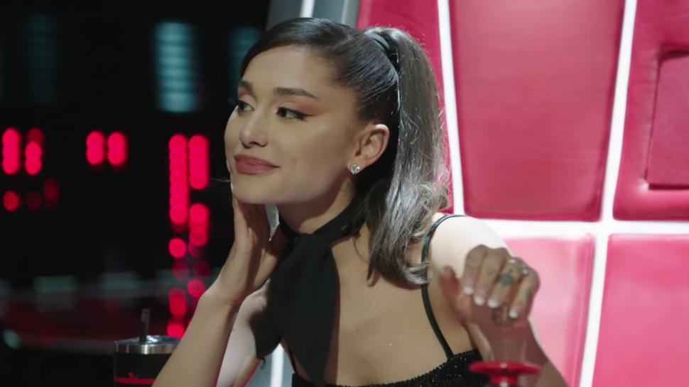 'The Voice': Ariana Grande Cuts Off John Legend With Her 'Thank U, Next' Button.jpg