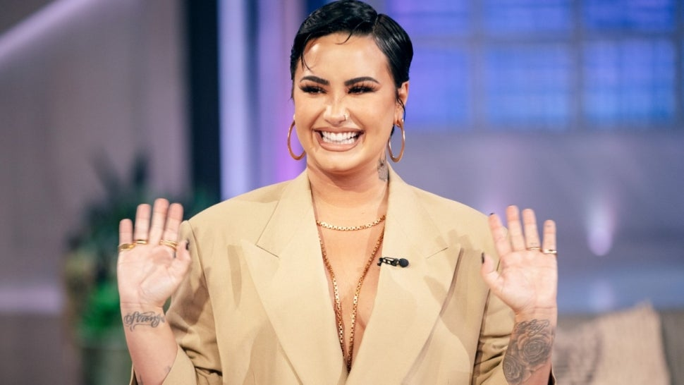 Demi Lovato Says Aliens Are Trying to 'Protect' Them From Themselves (Exclusive).jpg