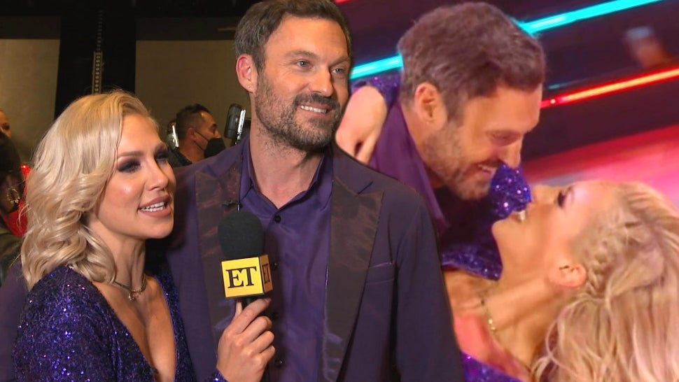 Brian Austin Green and Sharna Burgess on How 'DWTS' Is Challenging Their Romance (Exclusive).jpg