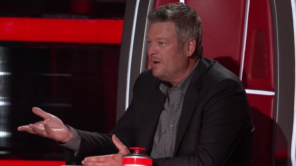 'The Voice' Coaches Roast Blake Shelton for Not Knowing Nelly and Kelly Rowland's Hit 'Dilemma'.jpg