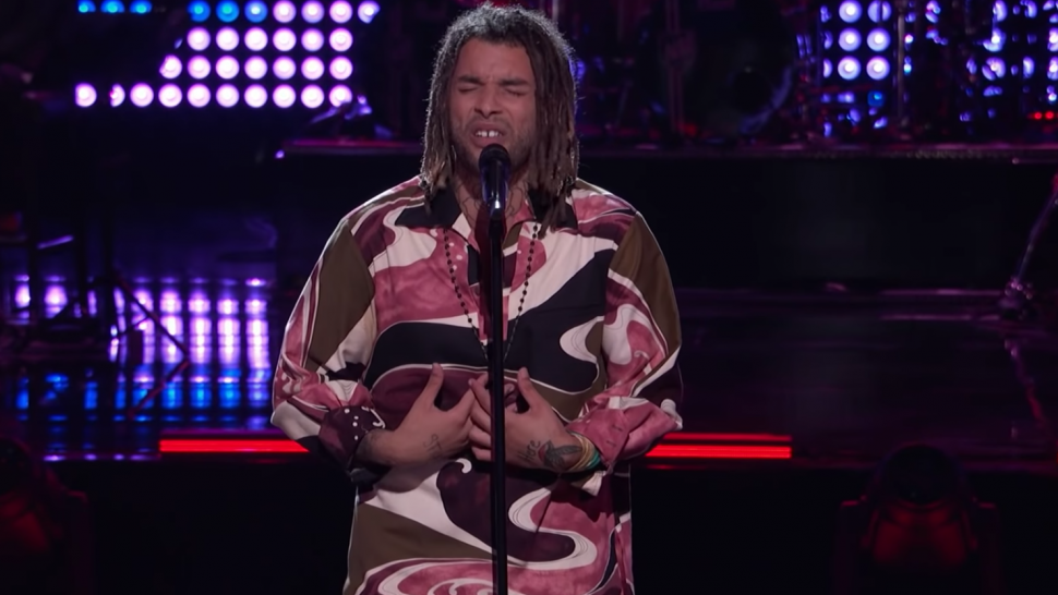 'The Voice': Samuel Harness' Emotional Knockout Performance Inspires a Surprising Decision From John Legend.jpg