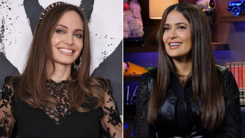 Angelina Jolie Shoves Salma Hayek's Face Into Her Birthday Cake: Watch!.jpg