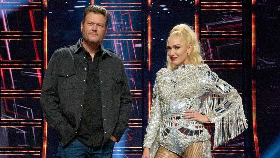 Blake Shelton Jokes Gwen Stefani Wedding Is 'Ultimate Publicity Stunt' for 'The Voice'.jpg