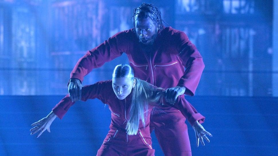 'DWTS': Iman Shumpert & Daniella Karagach On Their 'Us'-Inspired Dance That Got a Perfect Score (Exclusive).jpg