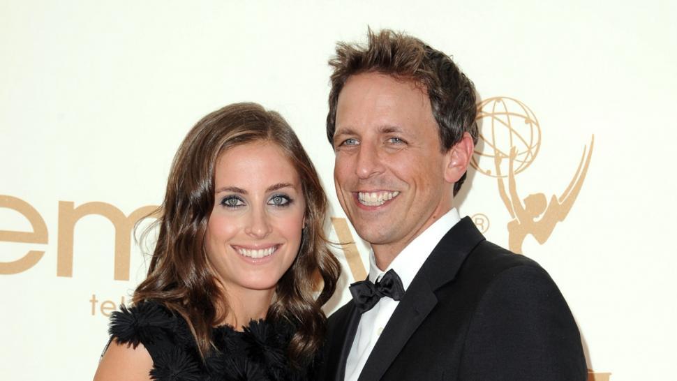 Seth meyers spouse