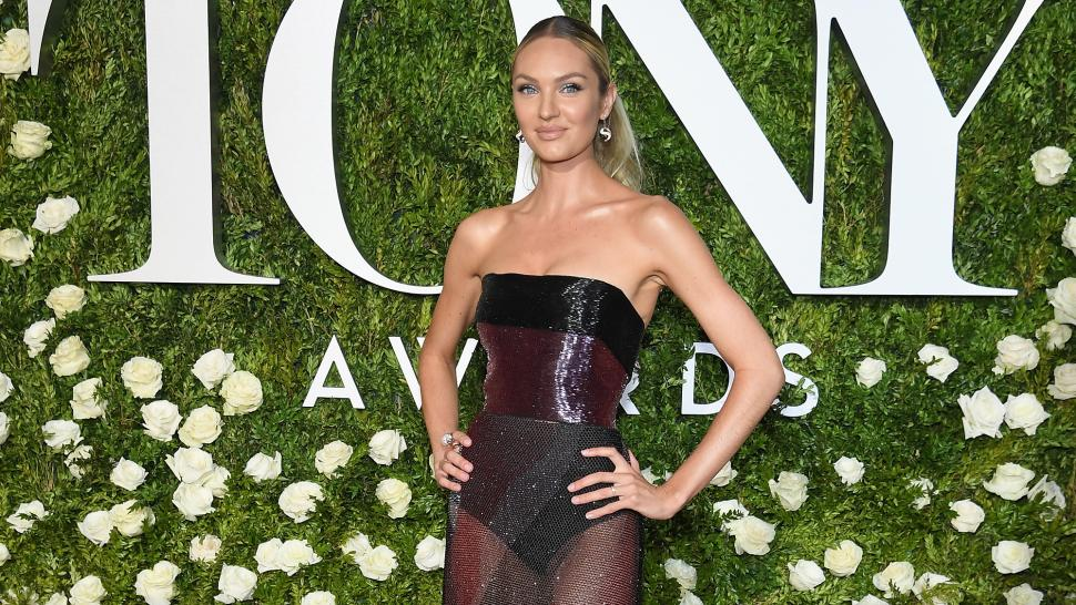 d6aaf5080a9 Candice Swanepoel is Pregnant With Baby No. 2 -- See Her Adorable Baby Bump!