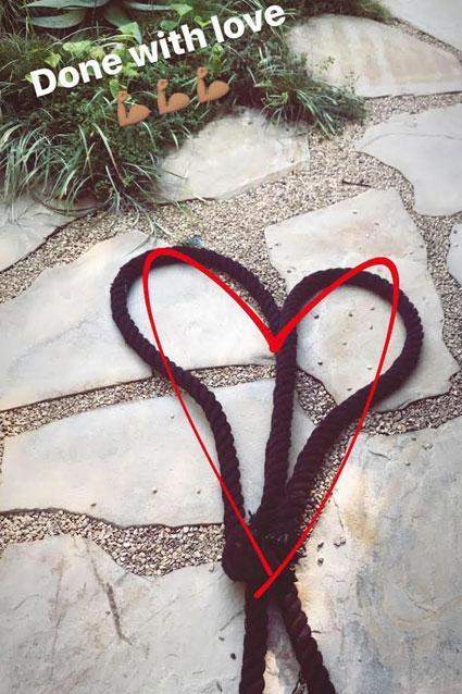 Halle Berry Instagram story