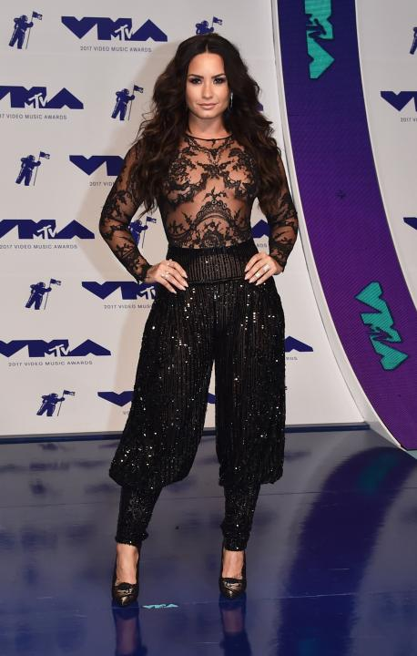 Demi Lovato at VMAs 2017