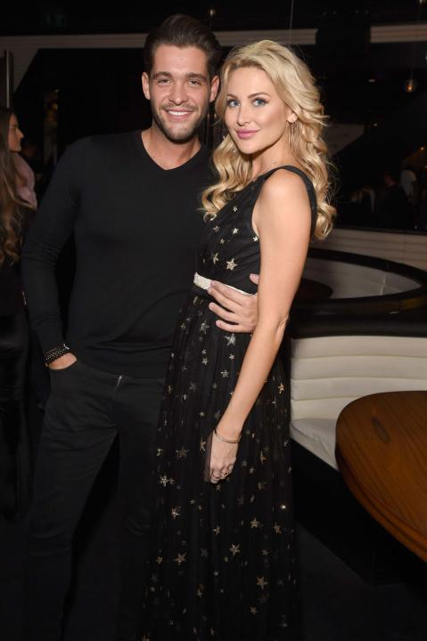 Jonny Mitchell and Stephanie Pratt at the at ME Hotel in London, England