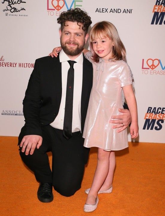 Jack Osbourne and daughter Pearl