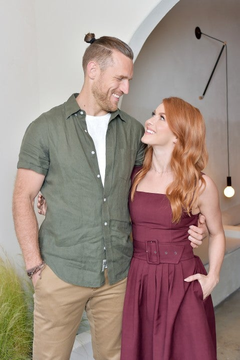 Brooks Laich and Julianne Hough at Love United event