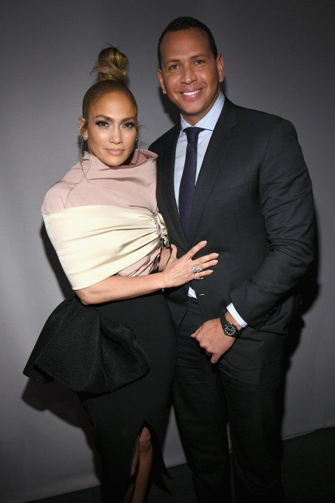 Jennifer Lopez and Alex Rodriguez in October 2018