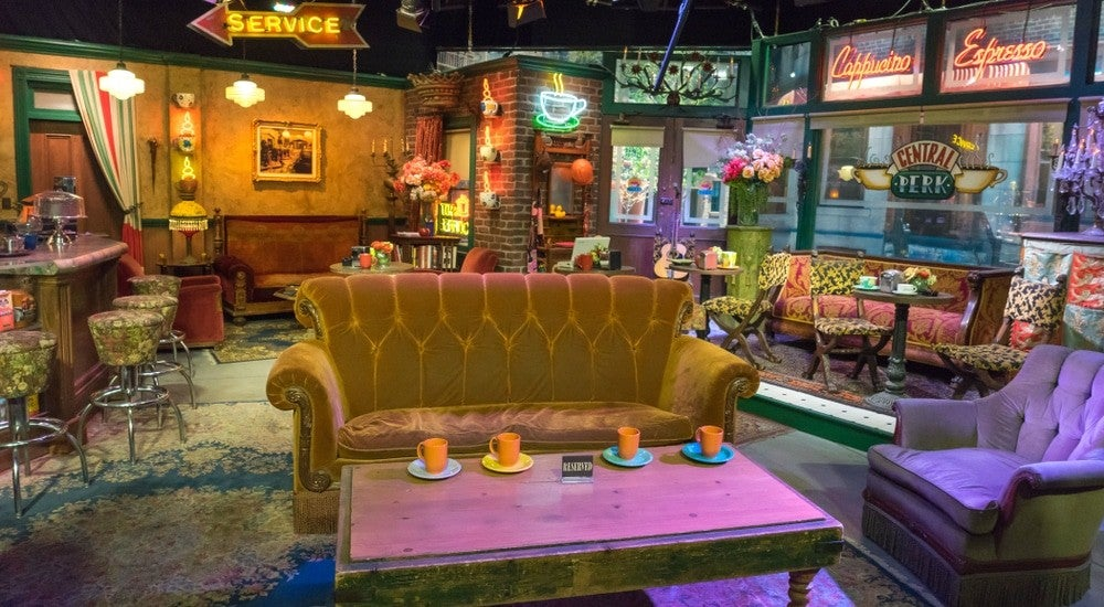 Liven Up Your Zoom Backgrounds With These Iconic Tv Locations Entertainment Tonight Roseanne living room zoom background