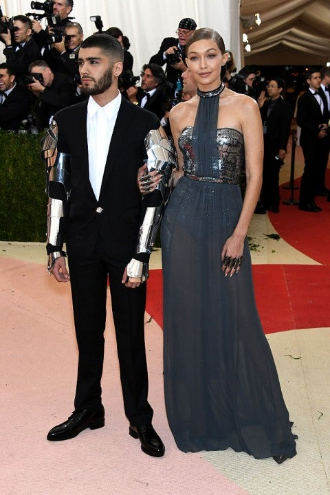 Zayn Malik and Gigi Hadid 2016