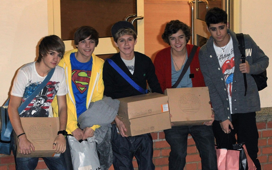 one direction at x factor in 2010