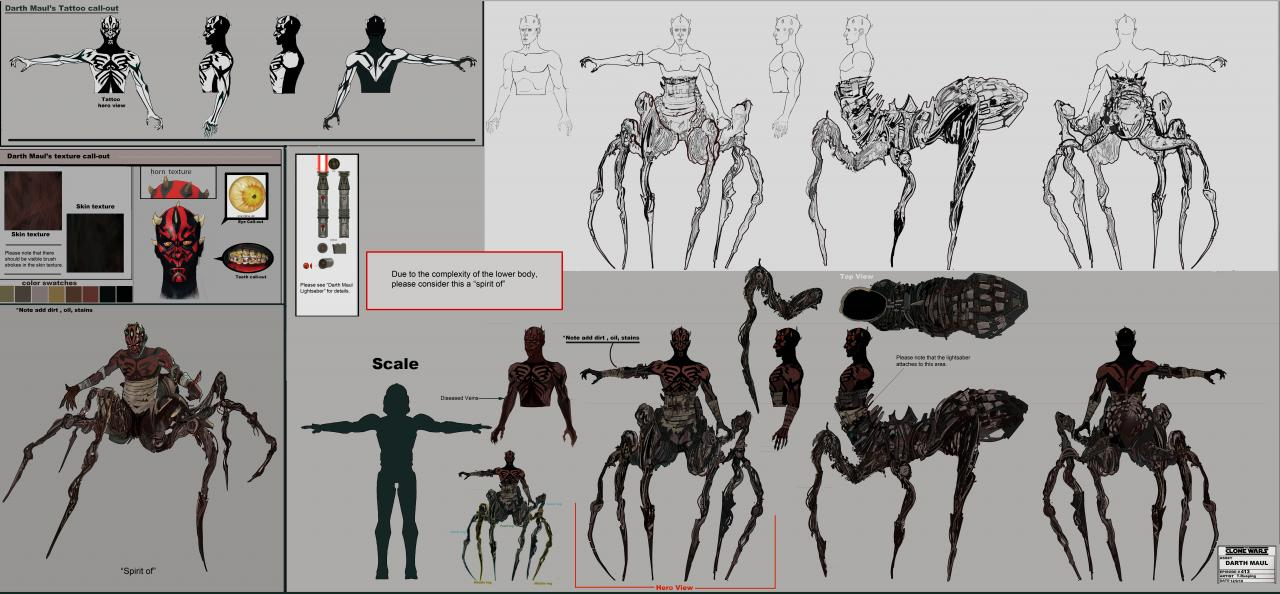 Exclusive 'Star Wars: The Clone Wars' Concept Art | Etonline